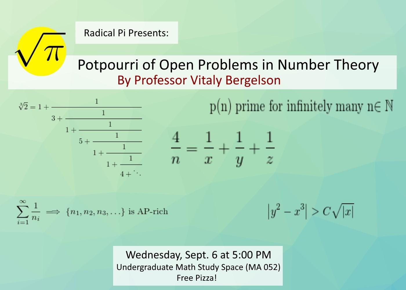 Radical Pi Math Club
